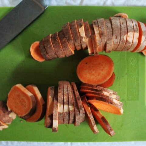 Low Histamine Roasted Sweet Potatoes Recipe