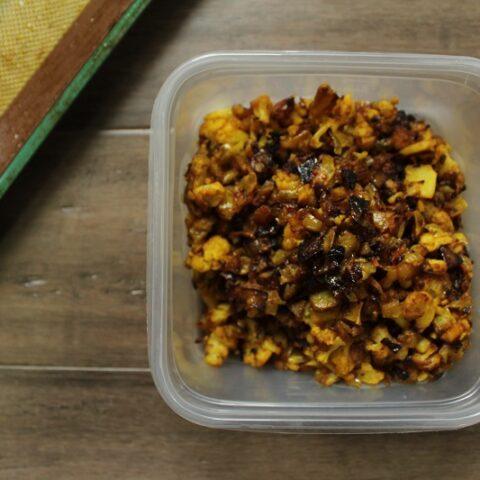 Crispy Spiced Cauliflower