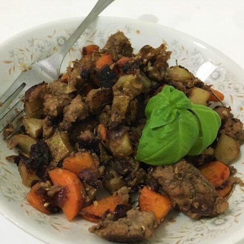 Garlic Lamb Skillet (Low Histamine Dinner)