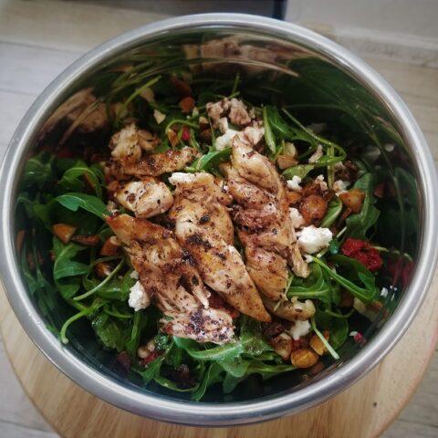Low Histamine Salad Dressing (Pomegranate-Sumac)